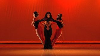 "Fayzah choreography piece - ""Death"" from the Tarot. Premier at Merc Cunningham, NYC"