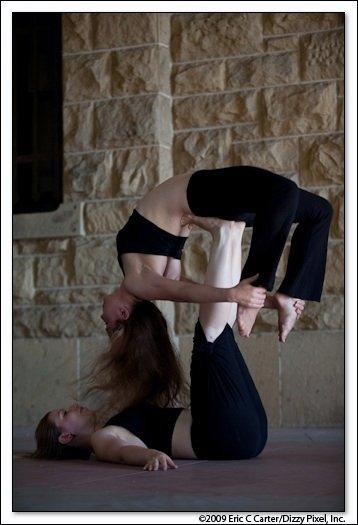 Fayzah & Ruth - Acro yoga