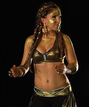 Android Goddess - performance - 2010