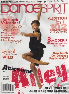 Dancespirit magazine - Fayzah with Bellyqueen Dance Company