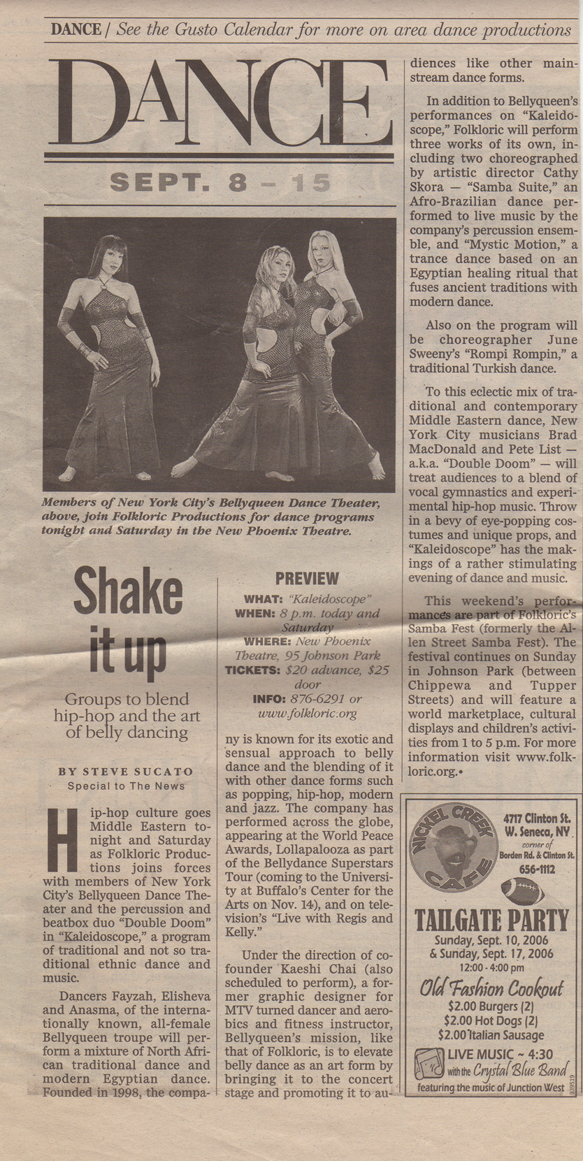 article about dance