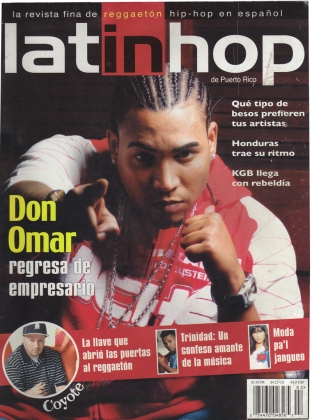 Fayzah (aka DJ Cloud 8) in issue of Latin Hop magazine - Puerto Rico