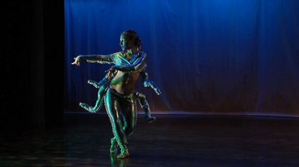 "Fayzah choreography - character - ""Elutheria; ruler of the deep seas"""