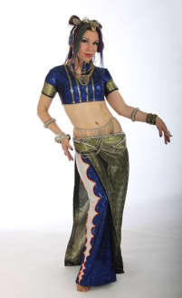 Fusion costume - design & construction by Fayzah