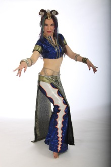 Fusion costume - design & construction by Fayzah