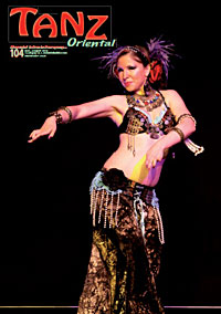 Fayzah - Cover -European dance magazine