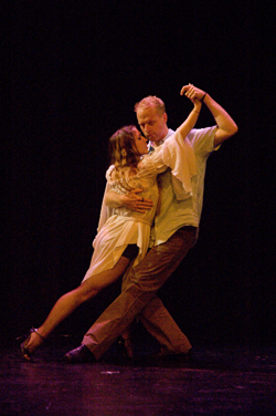 Tango performance Neville Dance Theater